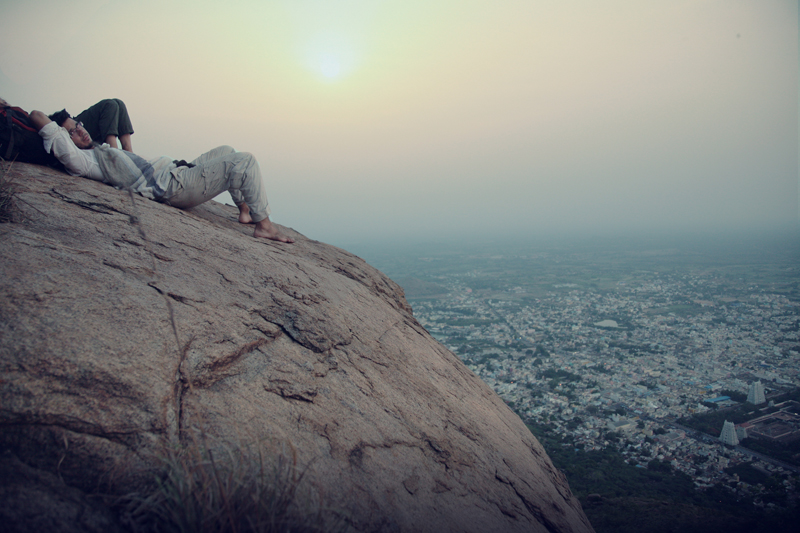 From the top of Annamalai